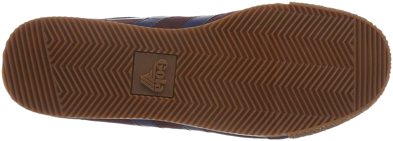 Gola B01DDEJCG2 Men's Harrier Fashion Sneaker B01DDEJCG2 Gola Medium|Burgundy eb35ad