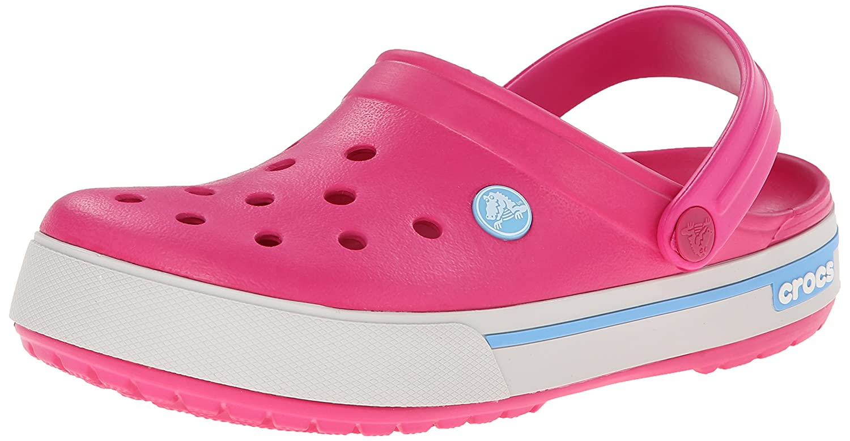 Crocs Unisex Crocband II.5 B00HWSXMSU M8W10|Candy Pink/Bluebell