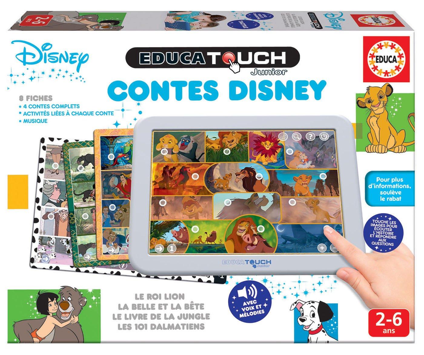 Educa Borrás Touch Disney Cuentos Juego Educativo, 17797: Amazon.es: Juguetes y juegos