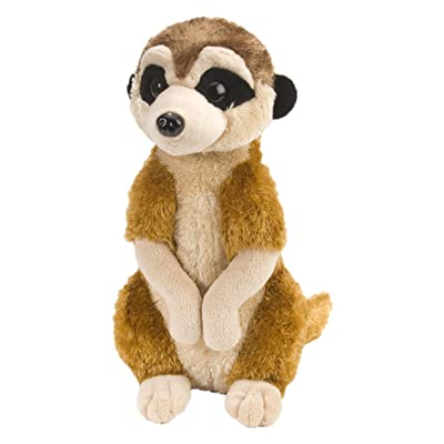 Wild Republic Meerkat Plush, Stuffed Animal, Plush Toy, Kids Gifts, Cuddlekins, 12 Inches: Toys & Games
