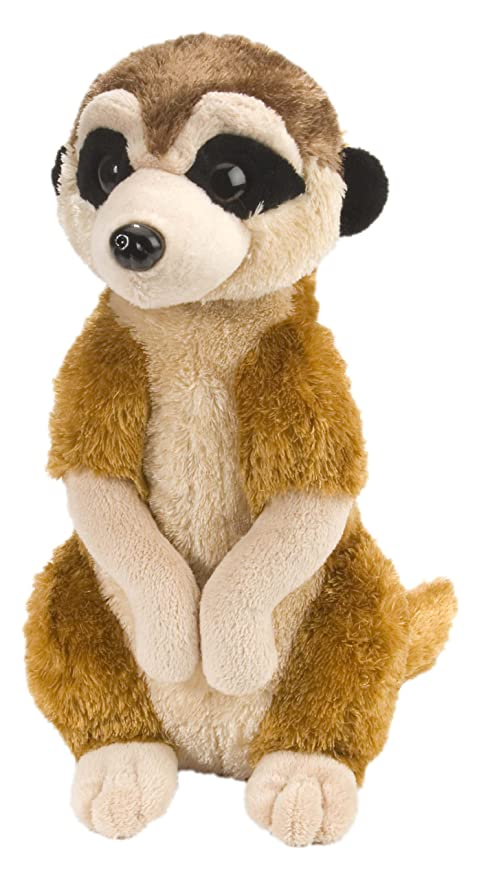 Wild Republic Meerkat Plush, Stuffed Animal, Plush Toy, Gifts for Kids, Cuddlekins