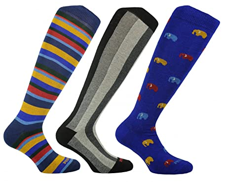 04804a561d6 PR8333-6 (3 PAIRS) MENS KNEE HIGH LONG COTTON SOCKS - 100% MADE IN ...