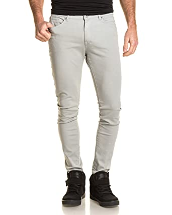 2e4fb919352c Tiffosi - Jean skinny homme gris clair - couleur  Gris - taille  FR ...