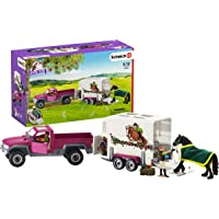 Schleich 42346 Pick Up with Horse Box Playset