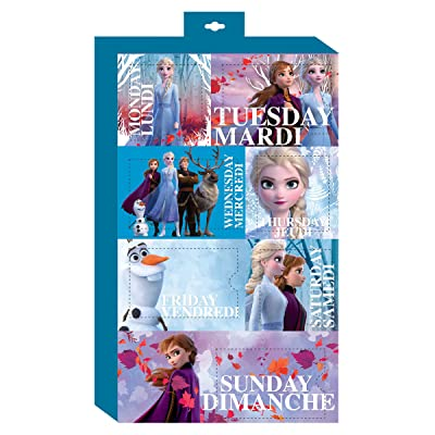 Danawares Frozen 2 Bows of The Week Age/Grade 4+: Toys & Games
