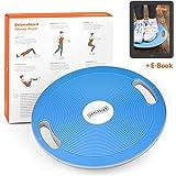 Joyletics Balanceboard Therapiekreisel + e-Book Balancetraining | Balance Board zur Verbesserung von Kraft, Gleichgewicht und Körper-Koordination | Durchmesser 40 cm