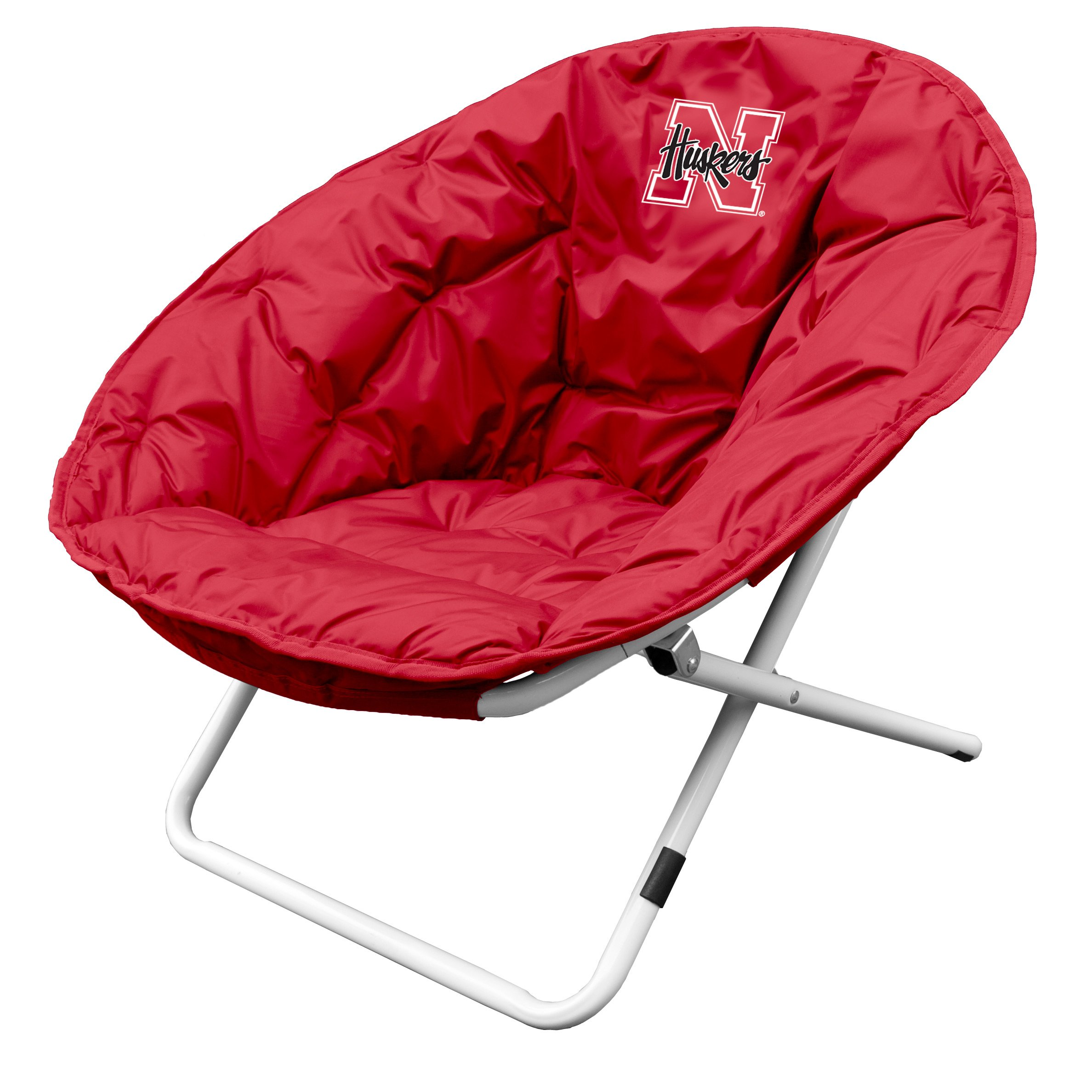 Nebraska Cornhuskers Sphere Chair by Logo Brands (Image #1)