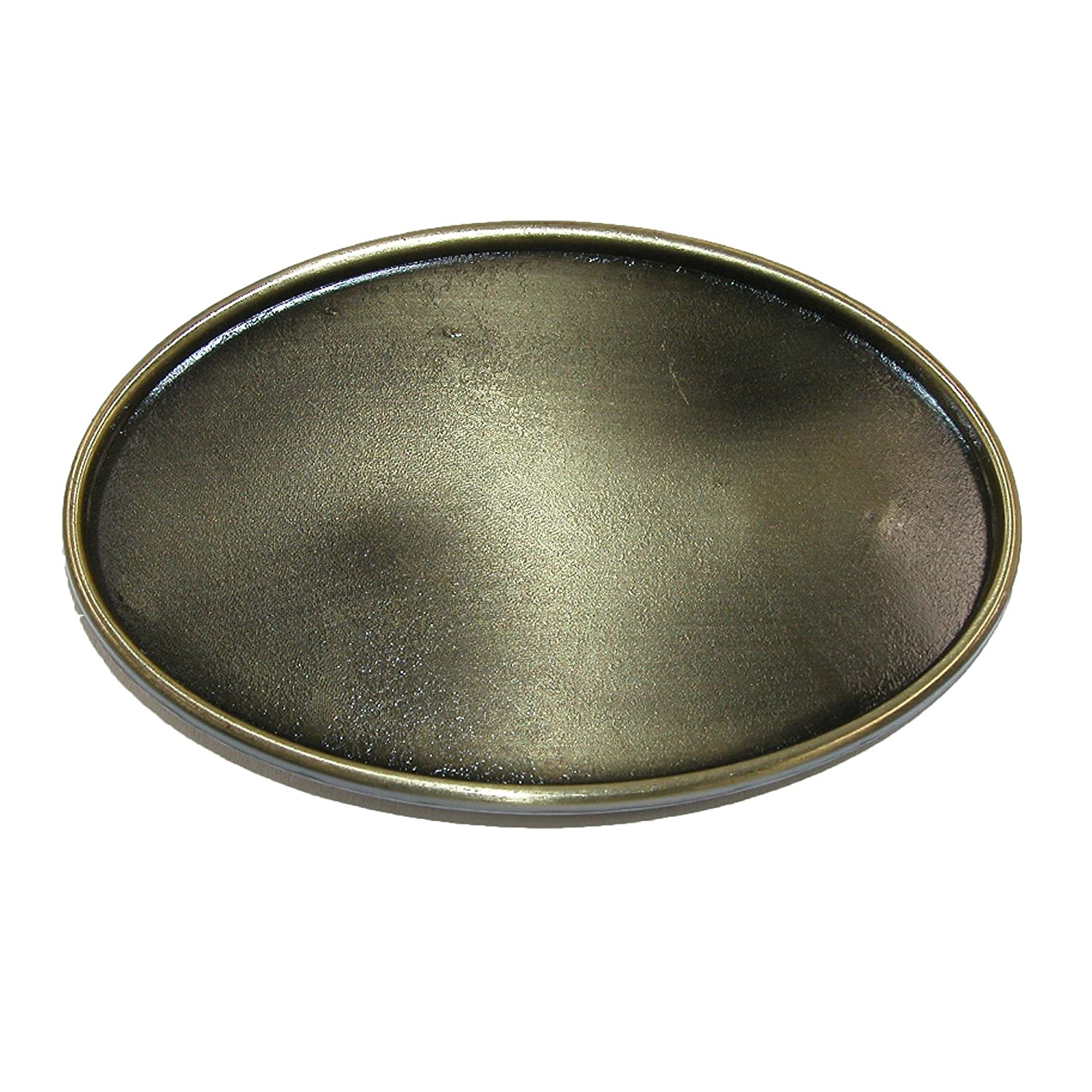 CTM Blank Oval Belt Buckle, Bronze RR-1163-BNZ