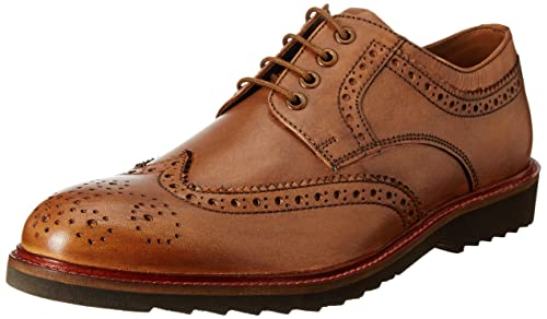 06ce7c8c44 Van Heusen Men s Brown Leather Formal Shoes-9 UK India (43 EU ...