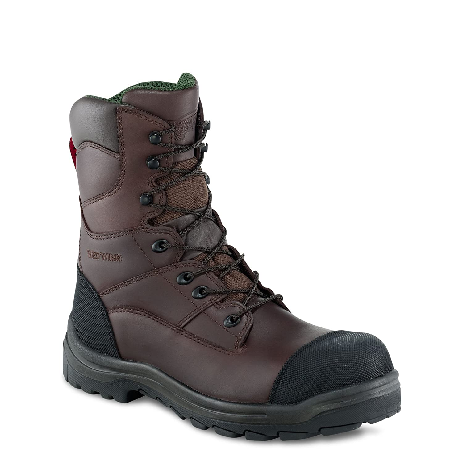 Red Wing 3289 Hombres Brown 8 pulgadas Impermeable Botas seguridad EN345 S3 SRA: Amazon.es: Zapatos y complementos