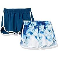 Amazon Essentials Pantalones Cortos para Correr Activos Niñas