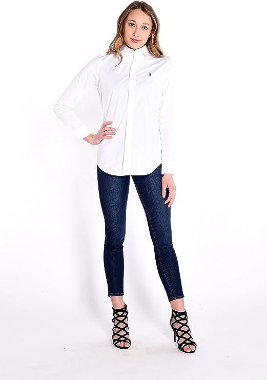 Polo Ralph Lauren V33Ig270Bg207, Blusa Para Mujer: Amazon.es: Ropa ...