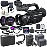 Sony PXW-X70 with eDigitalUSA Advanced Kit: Includes HD Lenses, Filters, Macro Lenses, Boom Mic, LED Video Light and more...