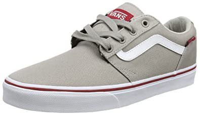 45fab9c5578 Vans Men s Chapman Stripe Low-Top Sneakers  Amazon.co.uk  Shoes   Bags
