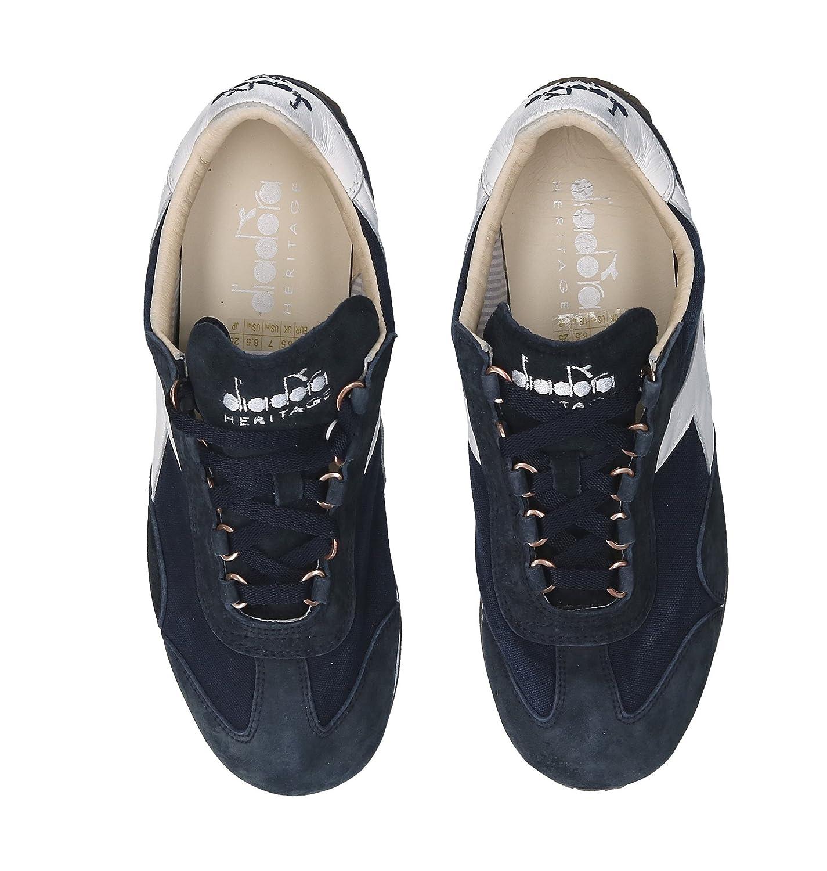 Diadora Diadora Diadora Heritage Herren 156988EQUIPE60062 Blau Leder Turnschuhe 5592d0