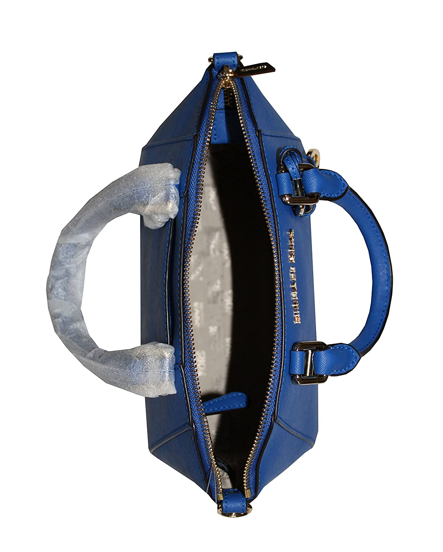 23a2054f45f0 MICHAEL Michael Kors Ciara Leather Medium Messenger Bag Handbag (Electric  blue): Amazon.in: Shoes & Handbags