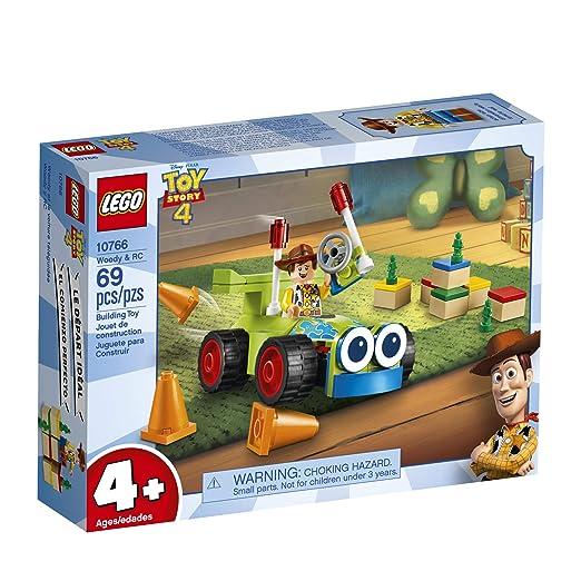 Amazon.com: LEGO s Disney Pixars Toy Story 4 Woody & RC ...