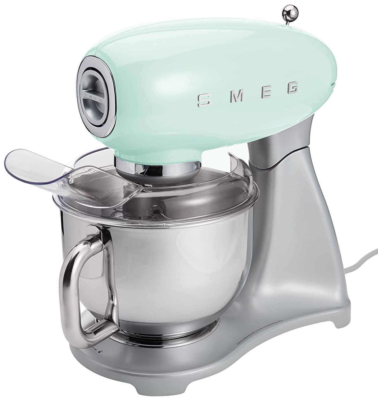 Smeg SMF01PGUS Stand Mixer, Pastel Green