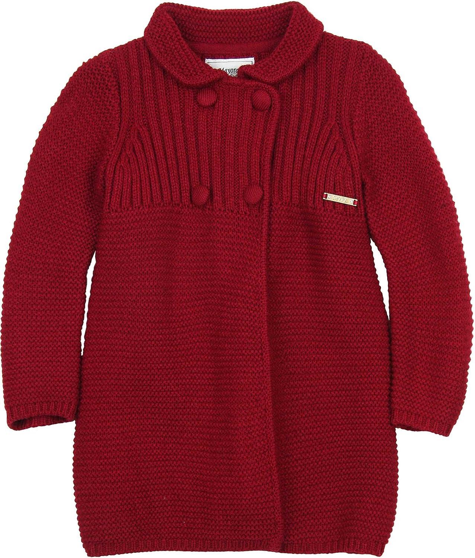 Sizes 2-9 Mayoral Girls Knit Cardigan White