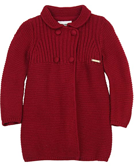 Amazon.com: Mayoral Girl s de largo Knit chaqueta de punto ...