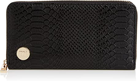 Mi-Pac Gold Zip Purse Monedero, 20 cm, litros, Python Black