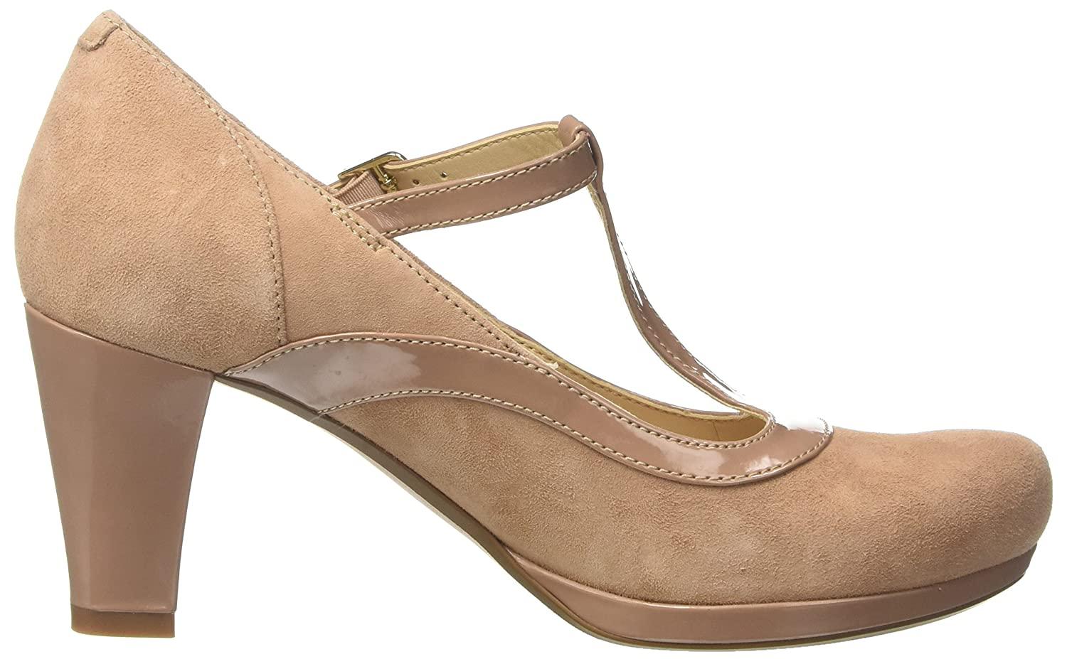 Clarks Damen Chorus Pitch T-Spangen Pumps    4c4a07