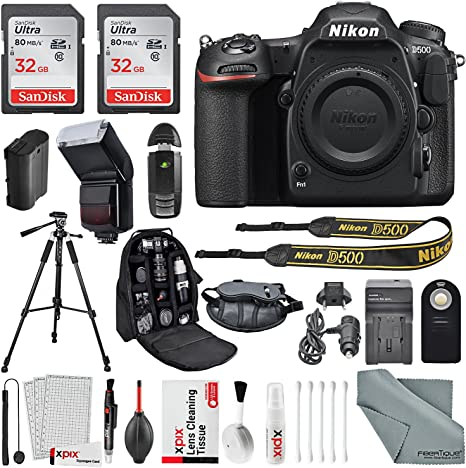 Nikon D500 Cámara DSLR con Accesorios Accesorios de Limpieza ...