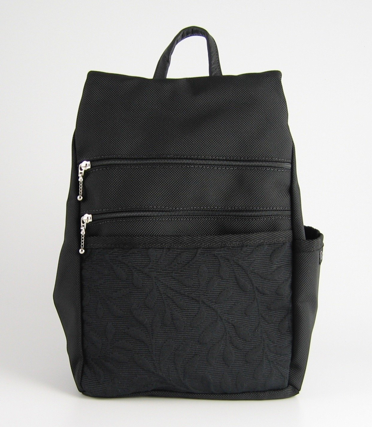 Backpack Purse by GreatBags   Small Black Womens Designer Backpack + Lightweight + Stylish + Durable