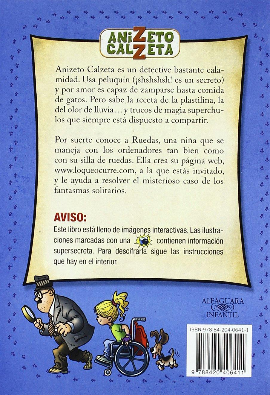 Anizeto Calzeta: El Misterioso Caso De Los Fantasmas Solitarios: Guillermo Fesser: 9788420406411: Amazon.com: Books