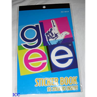 GLee Sticker Book ~ 95 Stickers: Toys & Games