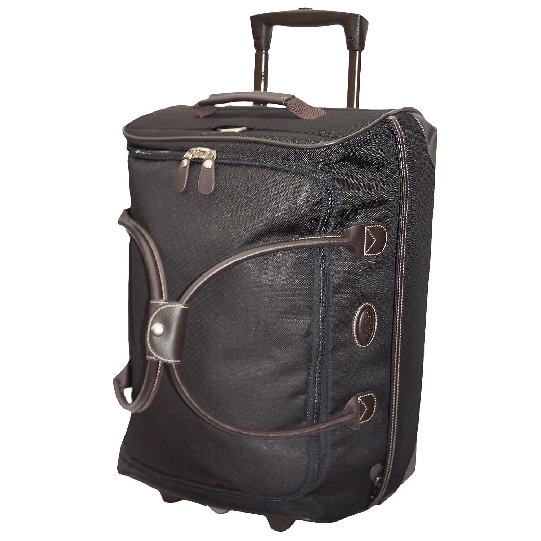 One Size Brics Luggage Pronto 21 Inch Rolling Duffle Black