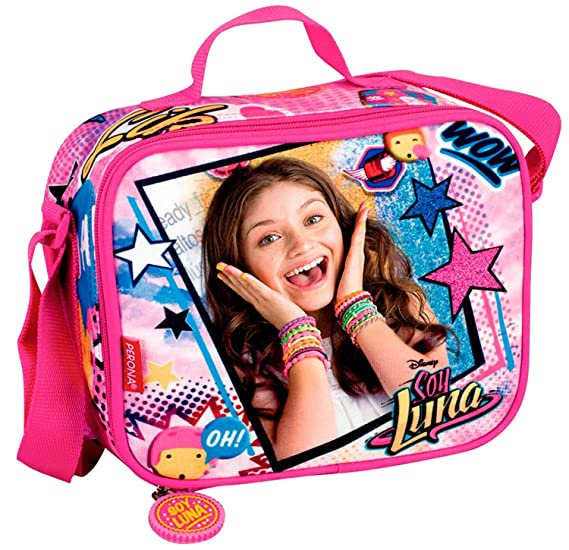 Amazon.com | School Bag Trolley Set Soy Luna Disney Backpack LunchBag Pencilcase | Kids Backpacks