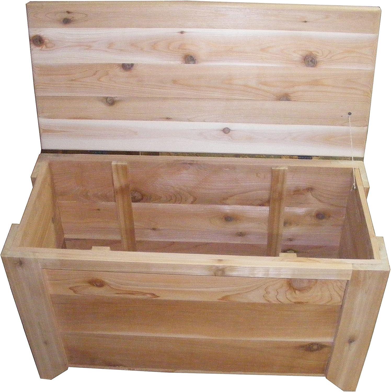 Amazon.com: Cedar Chest Storage Bench Size 30 x 14 x 20 inches by