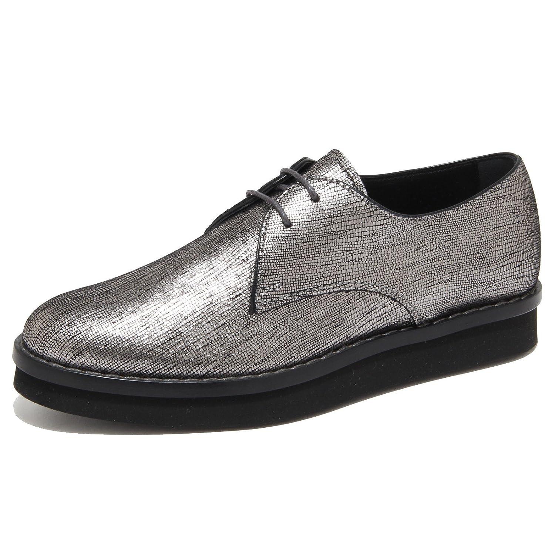 6351N scarpa allacciata TOD'S argento scarpe donna shoes women 36 EU|Argento