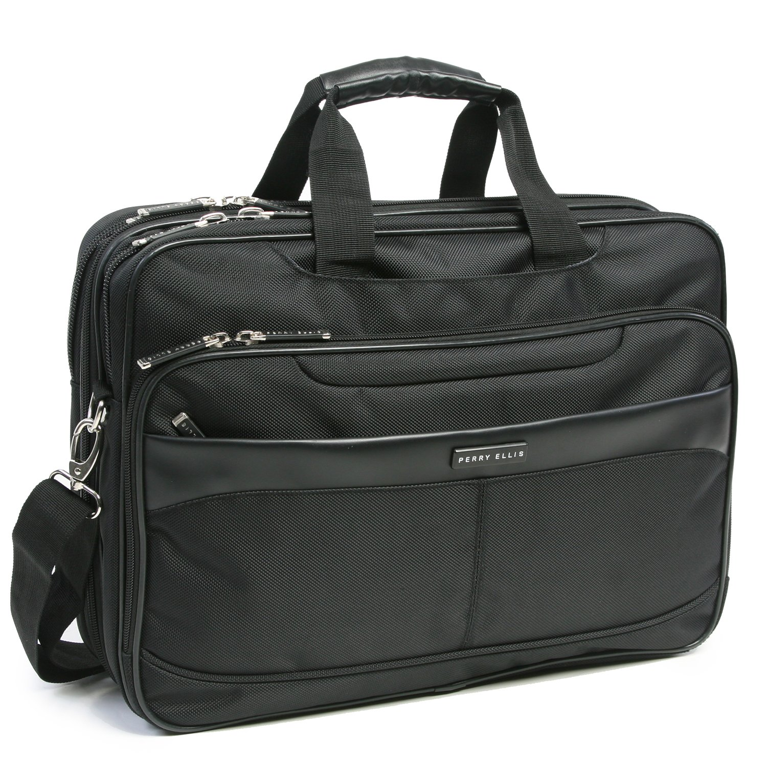Perry Ellis PE-BC-200, Mallette Mixte Adulte, Noir (Noir) - PE-BC-200 Perry Ellis Luggage
