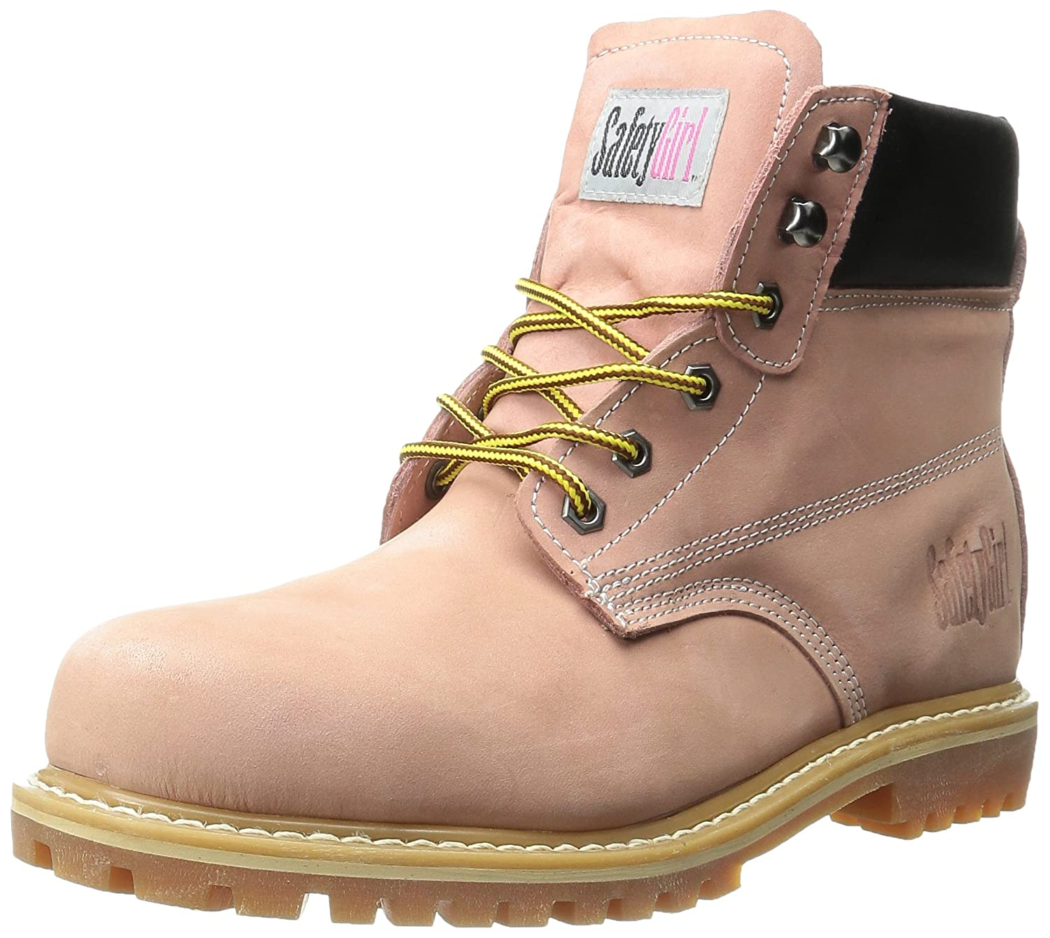安全Girl II Steel Toe Waterproof Womens Work Boots – ライトピンク   9 C/D US B00MJ34Y3A