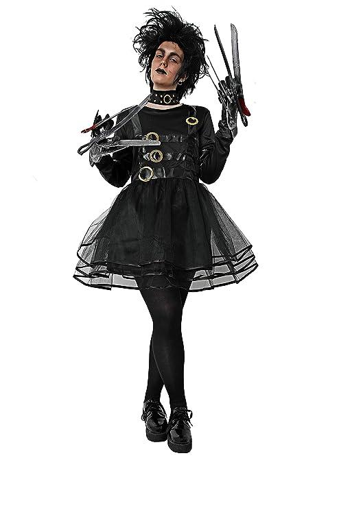 Disfraz de manostijeras para Mujer Adulta Talla Unica Halloween
