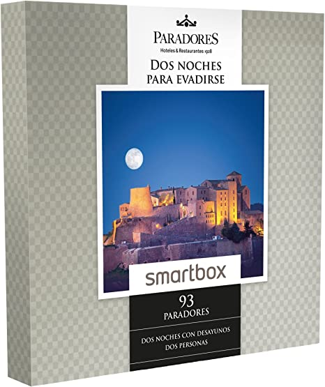 Smartbox - Caja Regalo -Dos Noches para EVADIRSE - 93 Paradores ...
