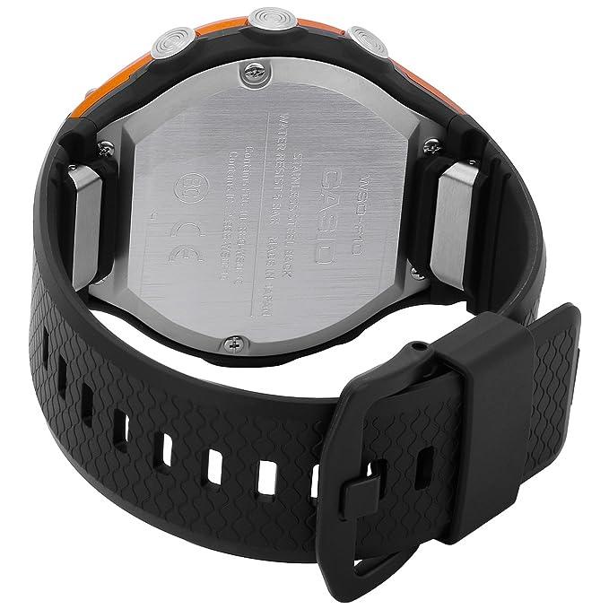 Casio - Reloj Smart Outdoor WSD-F10RGBAE al cuarzo (batería) caja ...