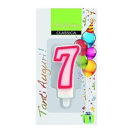 Cereria de Giorgio 56120 _ 67 vela de cumpleaños número 0 ...