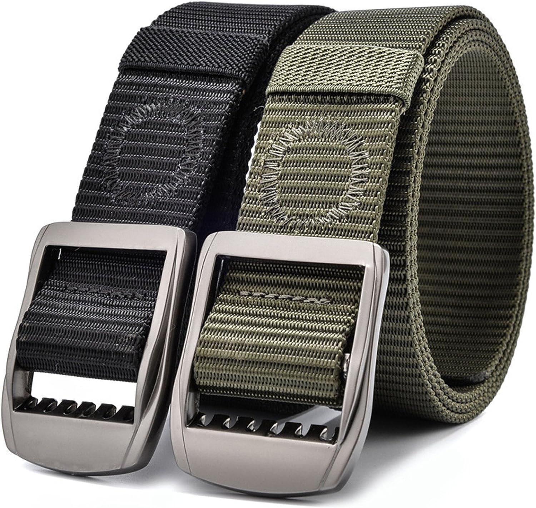 Toping Fine Fashion Mens Canvas Belt For Jeans Men Belts Long Black Green Male Wide Waist Belt 120 140 cm 150cm 180 cm 998belt
