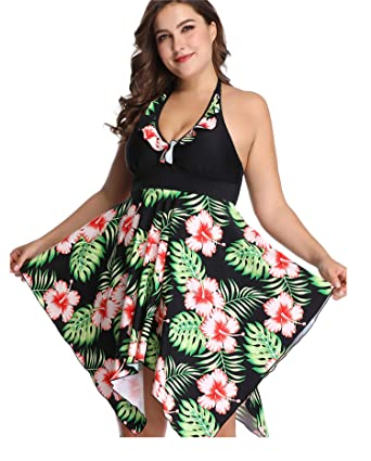 sanrense Swimwear for Women Plus Size Two Piece Bathing Suits ...