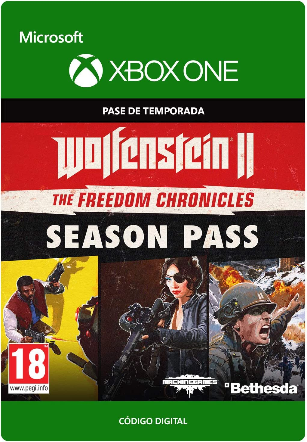 Wolfenstein II: Season Pass | Xbox One - Código de descarga ...