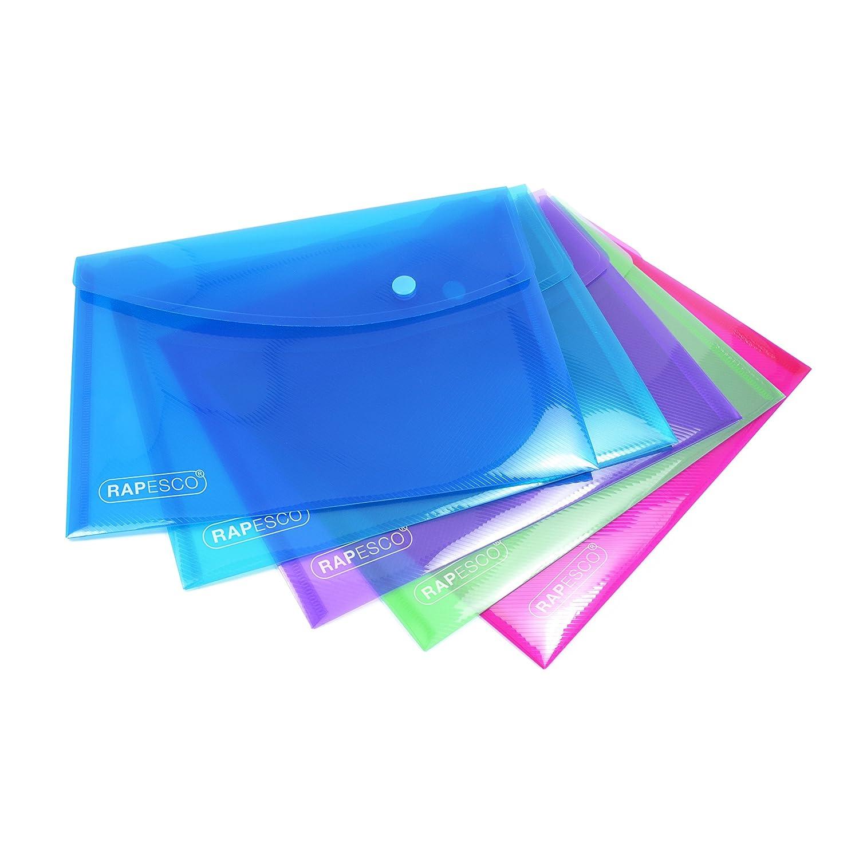 PP-Folie mit zus/ätzlicher Tasche gr/ün Sichttasche DIN A4 Veloflex 4530140 Projekt- und Dokumententasche