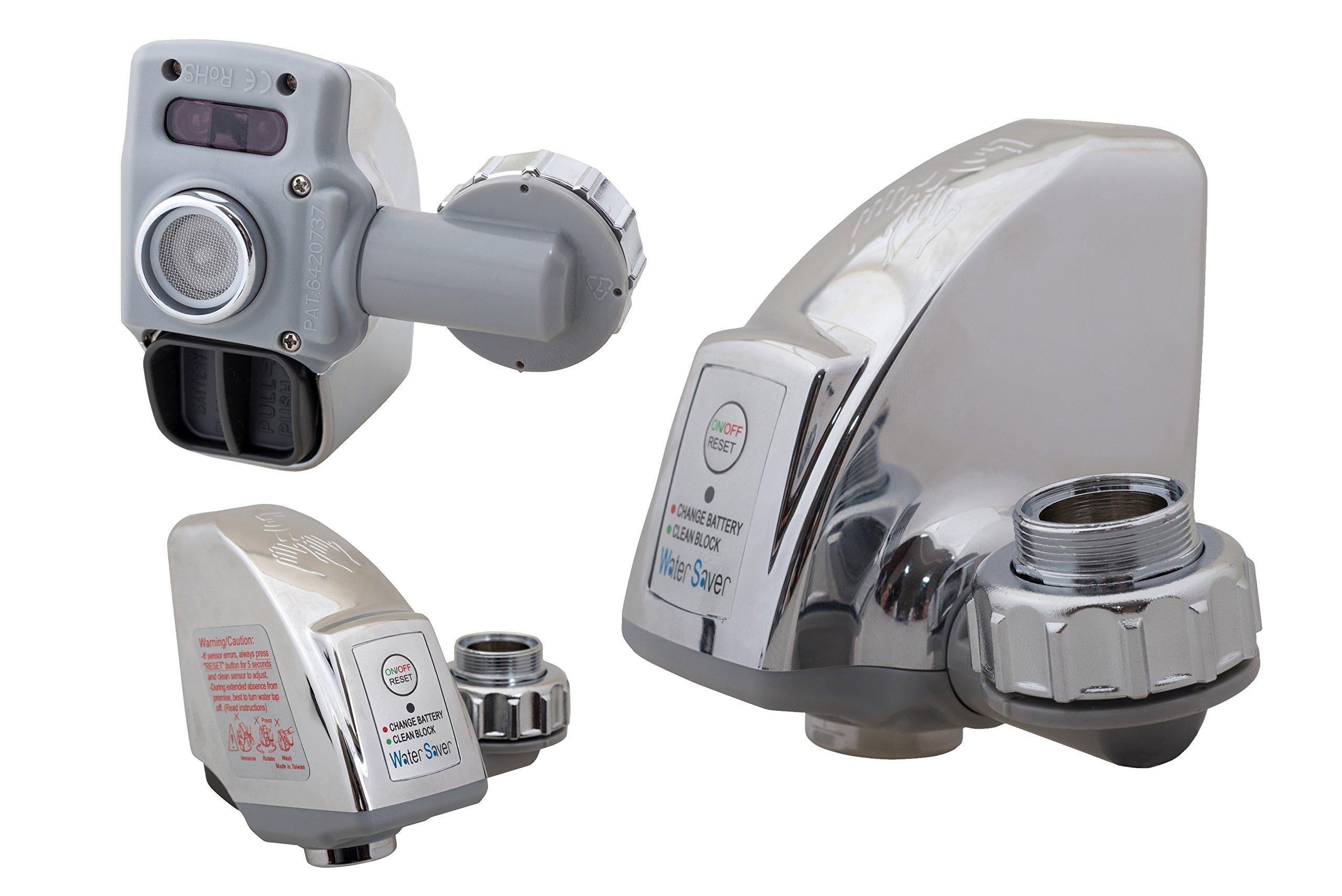 Auto Motion Faucet Sensor – Touchless Faucet Adapter – Hands Free Sensor  Faucet – Bath Faucet Motion–sensor Water-Saver - ELITE Pet Water