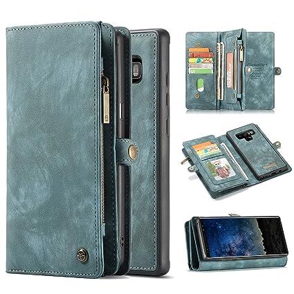 Amazon.com: Harsel - Funda para Galaxy Note 9 (cierre ...
