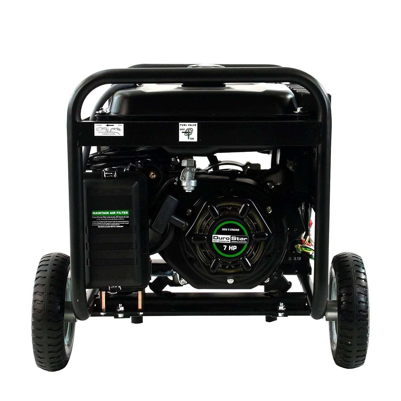 Amazon Fortress Hybrid 4 400 Watt Dual Fuel Generator with