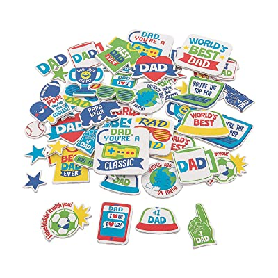 Father's Day Foam Shapes (300Pc) - Crafts for Kids and Fun Home Activities: Toys & Games