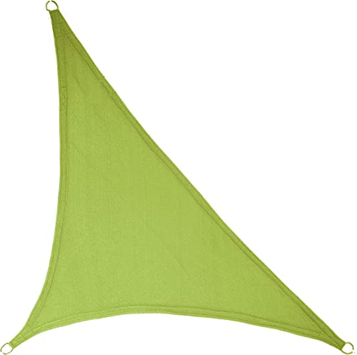 "LyShade 16'5"" x 16'5"" x 22'11"" Right Triangle Sun Shade Sail Canopy Lime Green"