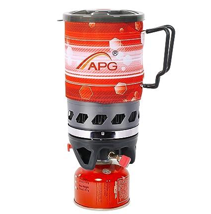 Amazon.com: APG - Mini sistema de cocción de estufa de 2 ...